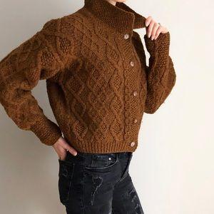 Banana Republic Vintage 1970's Chunky Wool Sweater